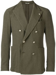 Manuel Ritz Button Front Jacket Green