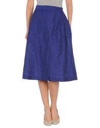Paul Smith Skirts 3 4 Length Skirts Women Bright Blue