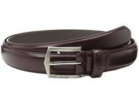Stacy Adams 30Mm Pinseal Leather Belt X Cordovan Men's Belts Burgundy