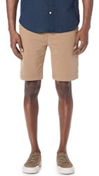 7 For All Mankind Trouser Shorts Khaki