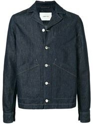 Cerruti 1881 Tailored Denim Jacket Blue