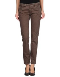 San Francisco Casual Pants Dark Brown