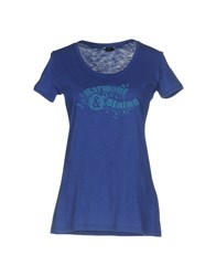 Harmont And Blaine T Shirts Blue