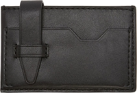 3.1 Phillip Lim Black Leather Sheath Card Holder
