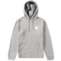 Undefeated Chest Strike Pullover Hoody Grey