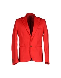 Minimal Suits And Jackets Blazers Men Red