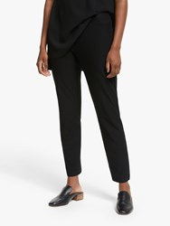 Eileen Fisher Slim Fit Ankle Trousers Black