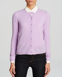 C By Bloomingdale's Cashmere Cardigan Soft Lavender