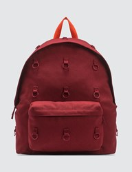 Raf Simons X Eastpak Padded Loop Backpack Red