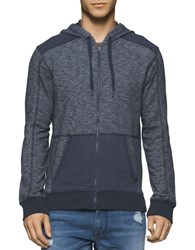 Calvin Klein Jeans Cross Dye French Terry Hoodie Odessa