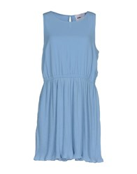 Pop Cph Dresses Short Dresses Sky Blue
