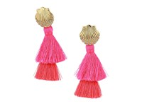 Lilly Pulitzer Shell Yeah Earrings Cosmic Coral Earring Multi