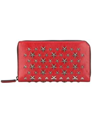 Jimmy Choo Carnaby Wallet Red