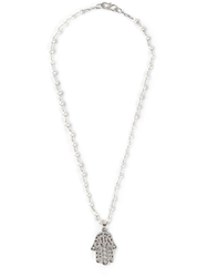 Natasha Zinko Homsa Necklace White