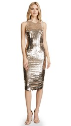 Misha Collection Amya Dress Light Gold
