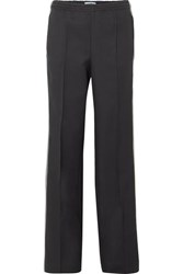 Prada Striped Gabardine Track Pants Black