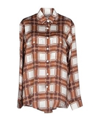 Rodarte Shirts Brown