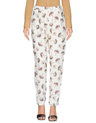 Anonyme Designers Casual Pants Ivory