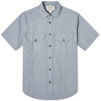 Filson Short Sleeve Feather Cloth Shirt Blue