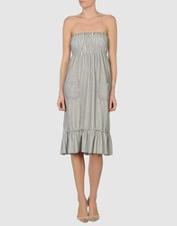 Romeo Y Julieta Dresses Short Dresses Women Light Grey