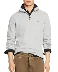 Polo Ralph Lauren French Rib Half Zip Pullover Andover Heather