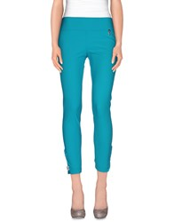 22 Maggio Trousers Leggings Women Turquoise