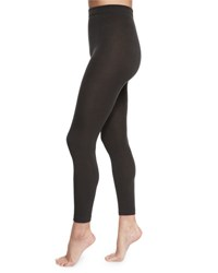 Leg Resource Fleece Lined Solid Leggings Charcoal