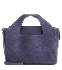 The Row Two For One Suede Tote Blue