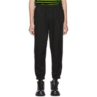 Mcq By Alexander Mcqueen Black Casual Track Trousers