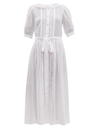 Loup Charmant The Belmont Cotton Dress White
