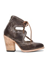 Freebird Flame Booties Brown