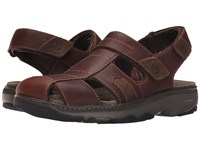 Clarks Raffe Bay Brown Leather Men's Sandals