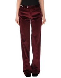 Pt0w Casual Pants Maroon