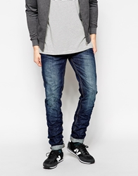 Pull And Bear Pullandbear Slim Fit Denim Jeans Blue