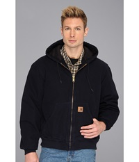 Carhartt Qfl Sandstone Active Jacket Midnight Men's Coat Navy