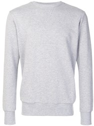 Lc23 Rear Flap Pocket Sweatshirt Grey