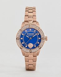 Versus By Versace South Horizons S2905 Crystal Bracelet Watch In Rose Gold 33Mm Rose Gold