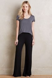 Anthropologie Sadie Wide Legs Black