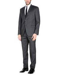 Jey Coleman Cole Man Suits Steel Grey