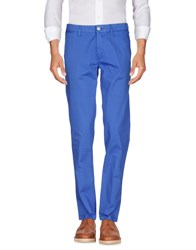 Fradi Trousers Casual Trousers Bright Blue