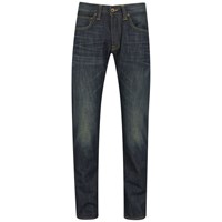 Edwin Men's Ed 55 Dusk Used Relaxed Tapered Jeans Dark Blue