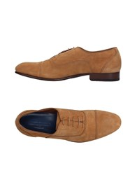 Alberto Guardiani Lace Up Shoes Camel