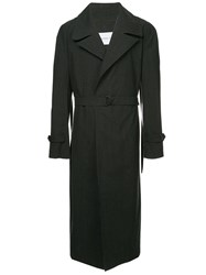 Strateas Carlucci Meta Trench Coat Red
