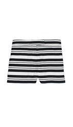 Tibi Summer Stripe Shorts