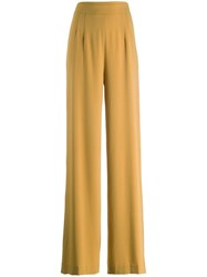 Chalayan Flared Trousers Yellow
