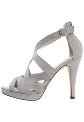 Pier One High Heeled Sandals Light Grey
