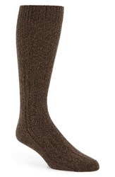 Boss Men's Rs Design Socks Dark Brown