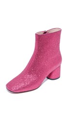 Marc Jacobs Valentine Ankle Booties Pink