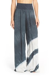 Women's Hard Tail Tie Dye Wide Leg Pants