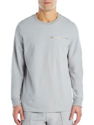 2Xist Cotton Blend Sweatshirt Cement